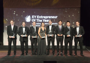 EY Entrepreneur Of The Year Greater LA winner group photo