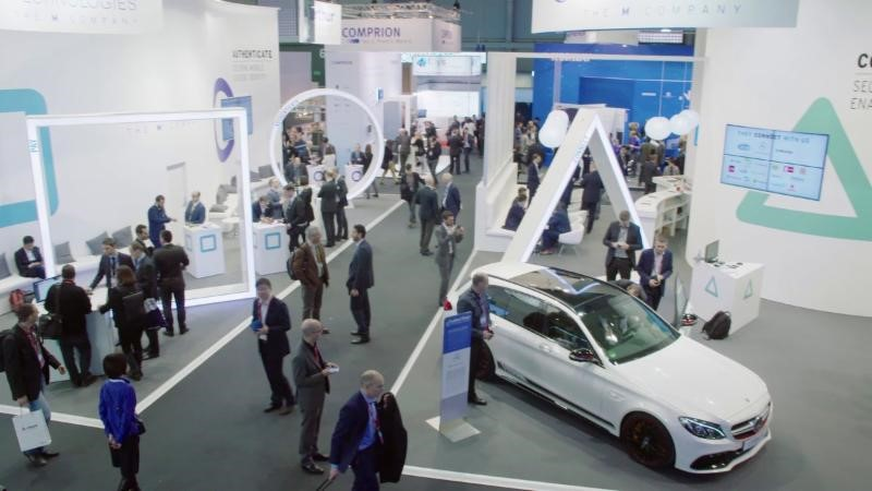 The Oberthur Technologies booth attracted hundreds of targeted prospects at the Mobile World Congress in Barcelona, Spain, earlier this year. Just as important at trade shows are the media interviews and other opportunities that take place beyond the booth